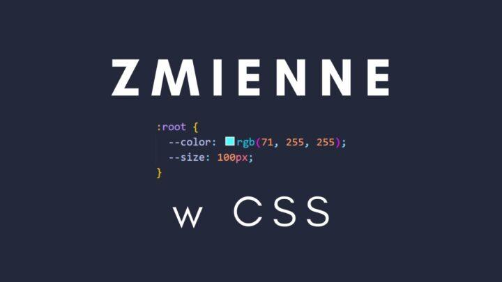 Zmienne w CSS